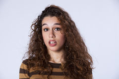 Surprised teenager Stock Photo