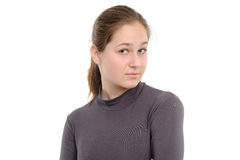 Surprised young woman Stock Photography