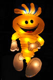 surprises légères d'été de modhesh de mascotte du Dubaï Images libres de droits