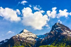Caucasus mountains landscapes, Sochi, Russia. royalty free stock image
