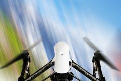 Surr med flyg för kamera 4K Royaltyfria Bilder