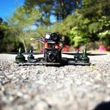 Surr - springa Quadcopter Arkivbilder