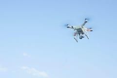 Surra eller det obemannade flyg- medlet för UAV, skott för hög vinkel Fotografering för Bildbyråer