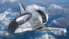 Surrdesign för futuristiska militära kriglekar Arkivbild