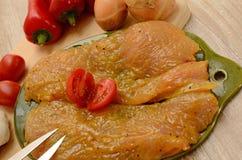 Surre a galinha fotografia de stock