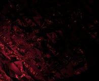 Surreal abstracte fractal kijkt als verbrijzelen Royalty-vrije Stock Afbeeldingen