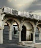 Surreal architectuur Stock Foto