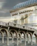 Surreal architectuur Royalty-vrije Stock Foto