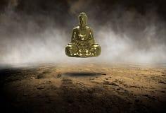 Surreal Boedha, Buddist, Boeddhisme, Standbeeld, Godsdienst stock afbeelding