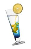 Surreal color cocktail Stock Image