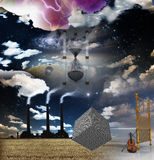 Surreal Composition Royalty Free Stock Photos