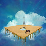 Surreal Composition Stock Images