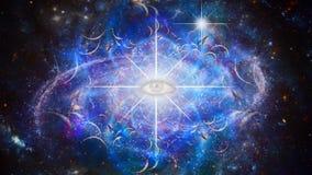 Eternal eye in endless space
