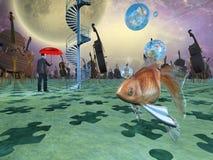 Surreal Dromen vector illustratie