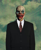 Surreal Empty Business Suit, Clown Royalty Free Stock Image