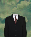 Surreal Empty Business Suit, Tie Royalty Free Stock Photography