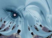 Surreal eye abstract Royalty Free Stock Photos