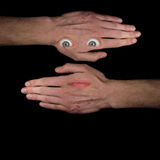 Surreal Face Stock Images