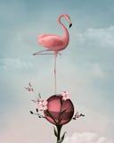 Surreal flamingo Royalty Free Stock Image