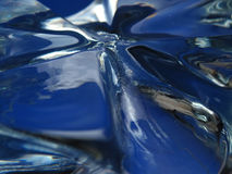 Surreal glass surface. Close-Up of surrealistic glass surface Stock Images