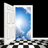 Surreal Heavenly Doorway royalty free stock photography