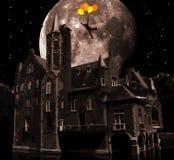 Surreal kasteel Royalty-vrije Stock Afbeelding