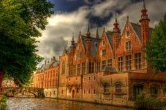 Surreal kasteel Stock Afbeelding