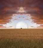 Surreal Landscape Stock Photography