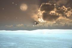 Surreal Landscape Stock Image