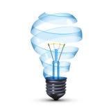 Surreal lightbulb Stock Photography