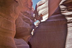 Surreal Lower Antelope Canyon Royalty Free Stock Images