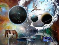 Surreal Meesterwerken vector illustratie