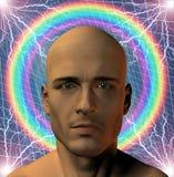 Surreal mens vector illustratie