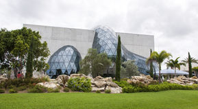Surreal Modern Building. The surreals shape of the Salvador Dali Museum in St. Petersburg, Florida Royalty Free Stock Photos
