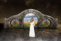 Surreal Peace, Hope, Love, Nature Stock Photography