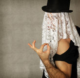 Surreal portrait Royalty Free Stock Photography