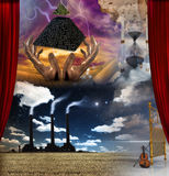 Surreal Samenstelling royalty-vrije illustratie