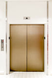 Surreal elevator doors Stock Photography