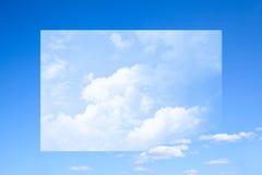 Surreal sky stock image