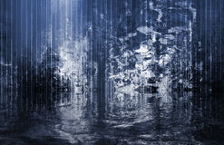 Surreal Soothing Abstract Waterfall View royalty free stock image