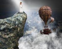 Surreal Steampunk, Peace, Hope, Love, Spiritual royalty free stock photo