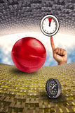 Surreal Time Life Composition royalty free stock photo