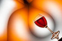 Surreal wine art Royalty Free Stock Images