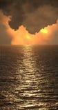Surreal wolken Royalty-vrije Stock Afbeeldingen
