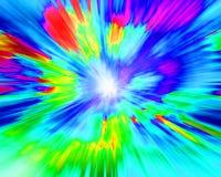 Surreale Farben Lizenzfreies Stockbild