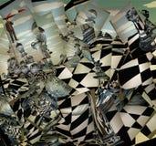 Surreale Schach-Landschaft vektor abbildung