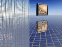 Surreale Sendungen Lizenzfreies Stockbild
