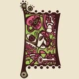 Surreales abstraktes Design, Mosaik Stockbild