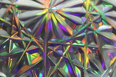 Surrealism, rainbow blurred abstract background. Purple, green, stock photography