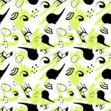 Surrealism stylized seamless pattern Stock Photos